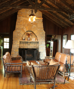Cypress-Log-Cabin-interior